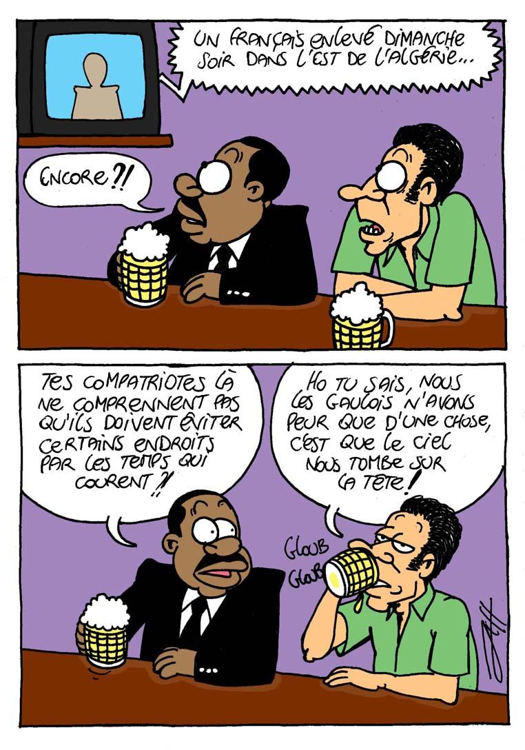 un otage français en algérie