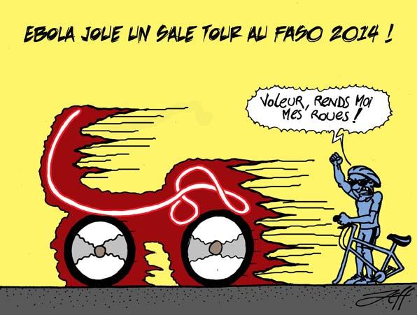 Ebola bloque le FASO