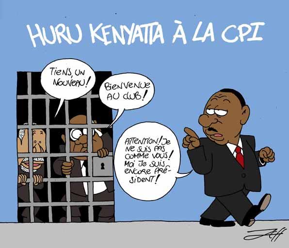 kenyatta à la barre