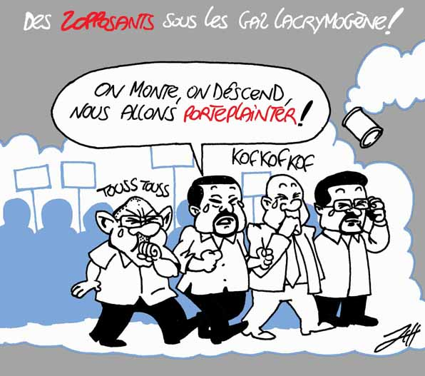 les zopposants