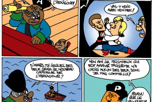 Article : Les pirates du Gabao et le nouveau capitaine de l'Hexagone